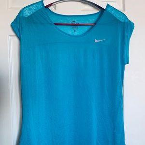 Nike sports stylish  blue t-shirt never used.